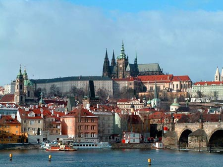 Prague Castle at daylight