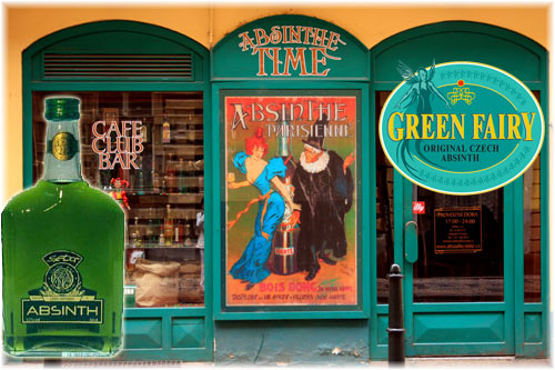 Green Fairy  Czech Absinthe