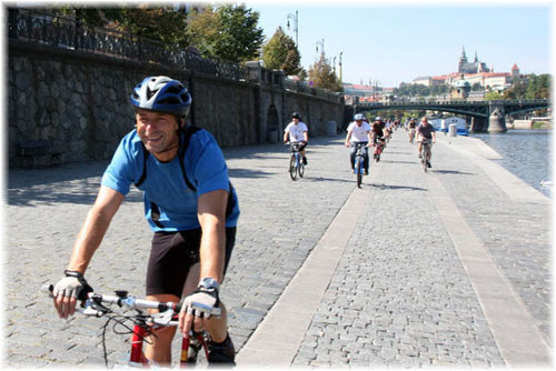 Prague by Bike Tour