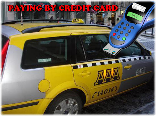 Paying Taxi by Card