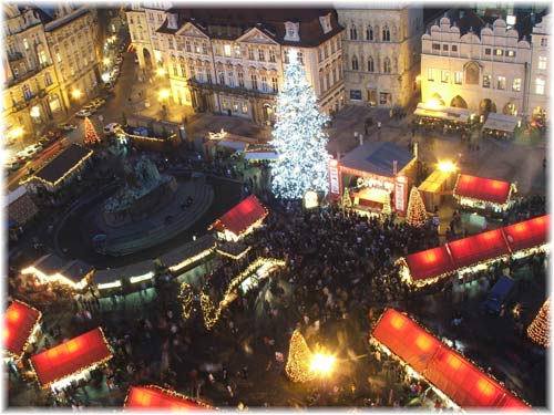 l Christmas markets in Prague