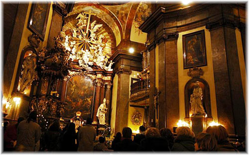 Church Mass Prague