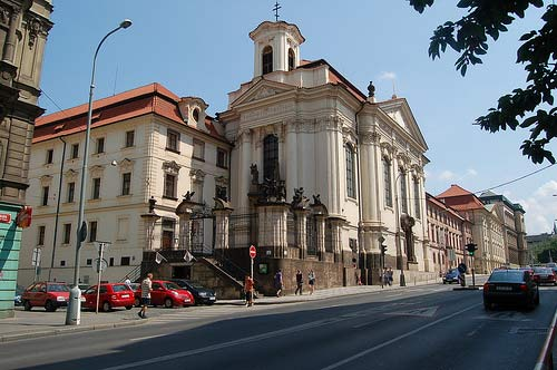 St Cyril and Methodius Church in Prague