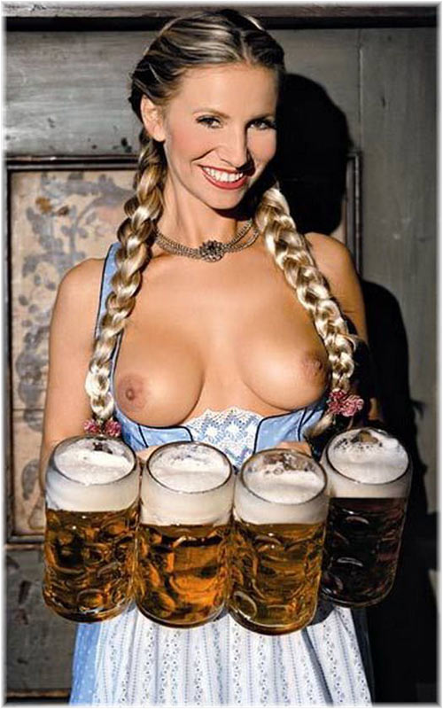 Czech Beer Girl