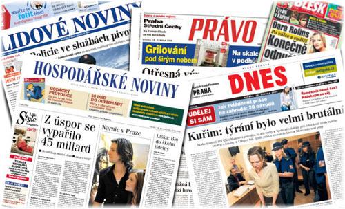 English Media in Prague