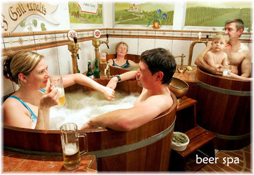 Beer Spa Czech Republic