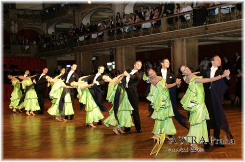 Ballroom Dancing Prague