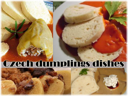 czech dumplings dishes