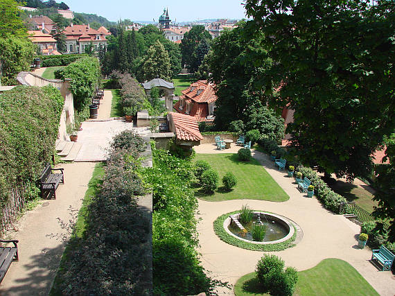 Great Palffy Garden prague