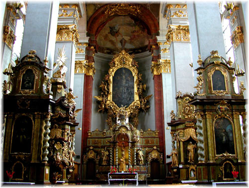 Church of St Gilles in Prague