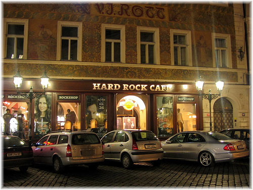 Hard Rock Cafe, Prague