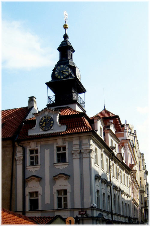 Jewish Town Hall in Prague