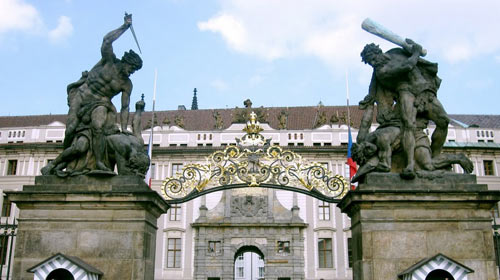 Matthias Gate prague castle