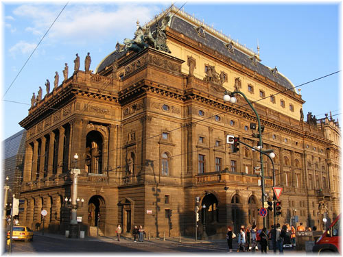 Theatres in Prague