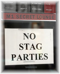 No Stag Parties