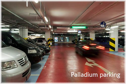Palladium Prague parking