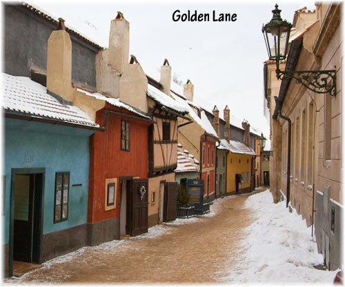 Golden Lane, Prague Castle