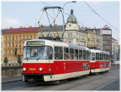 Trams Prague