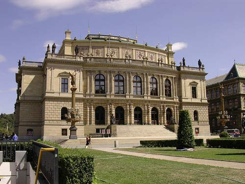 Rudolfinum at Namesti Jana Palacha