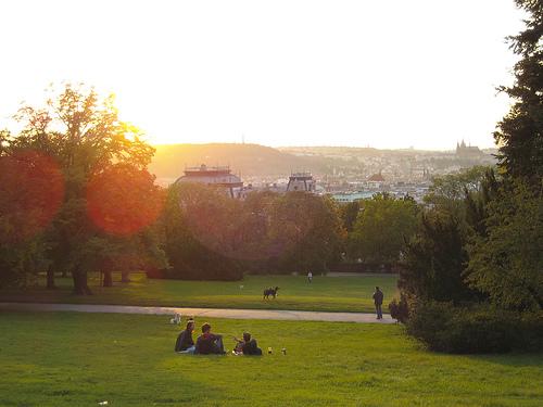Parker i Prag