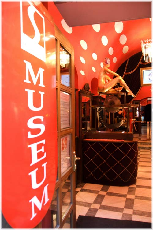 Admission: 250 CZK (large groups discounts). Prague Sex Museum