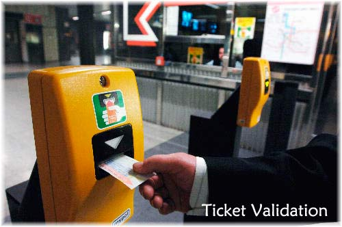 Ticket validation