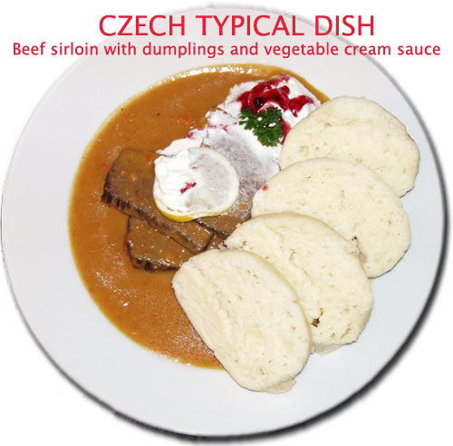 Prague Typical Dish