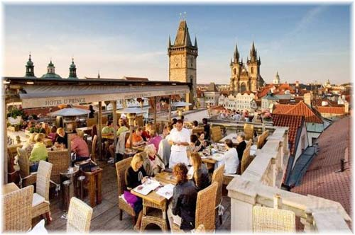 U Prince Prague Roof Terrace