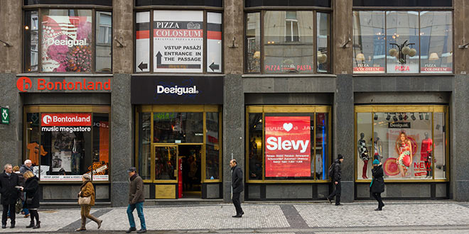 shopping for clothes in prague � prague guide