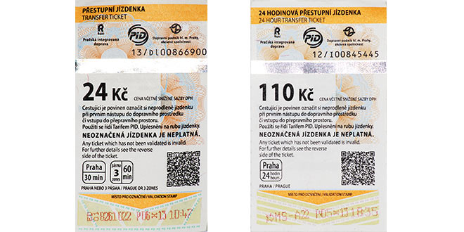 Image result for prague transport tickets